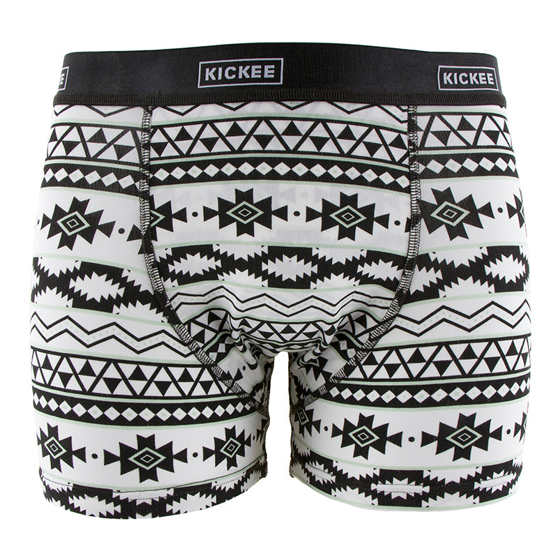 Kickee Pants Men's Print Boxer Brief