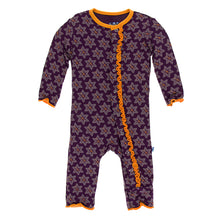 Load image into Gallery viewer, Kickee Pants Print Muffin Ruffle Coverall with Snaps