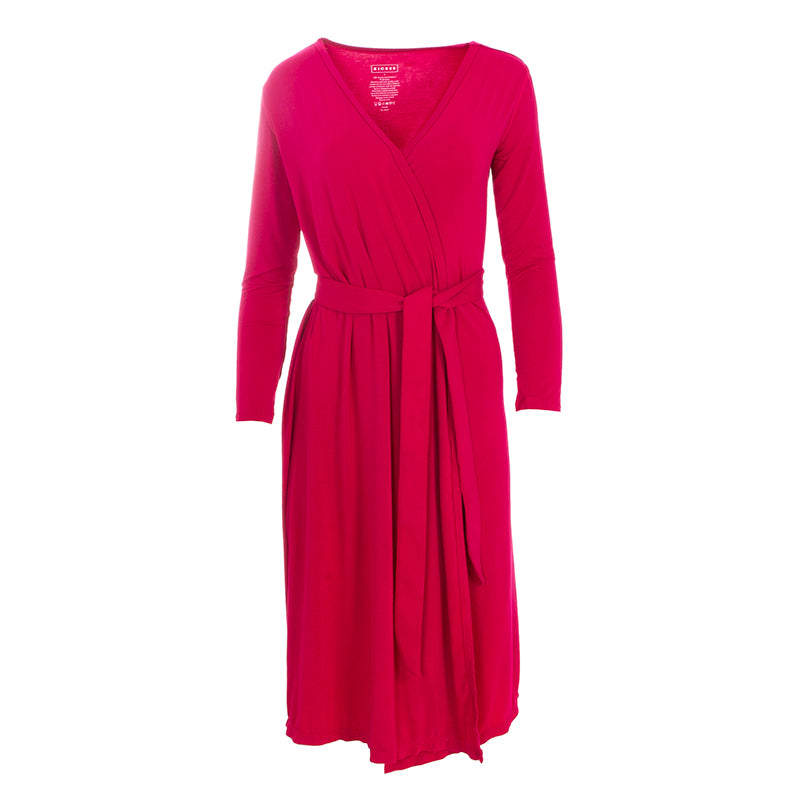Kickee Pants Women's Solid Basic Robe