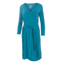 Load image into Gallery viewer, Kickee Pants Women's Solid Basic Robe