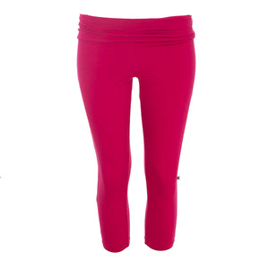 Kickee Pants Women's Solid Performance Jersey 3/4 Legging