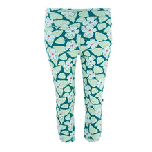 Load image into Gallery viewer, Kickee Pants Women's Print Performance Jersey 3/4 Legging