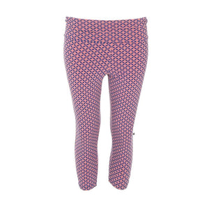 Kickee Pants Women's Print Performance Jersey 3/4 Legging