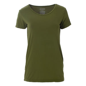 Kickee Pants Women's Solid Short Sleeve Loosey Goosey Tee