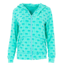 Load image into Gallery viewer, Kickee Pants Women's Print Lightweight Hoodie