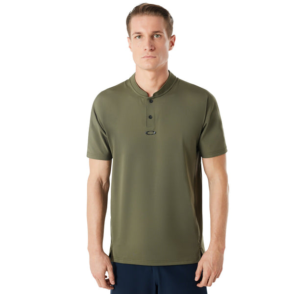 OAKLEY ENGINEERED SS POLO BOMBER COLLAR MEN LIFESTYLE POLO SHIRT