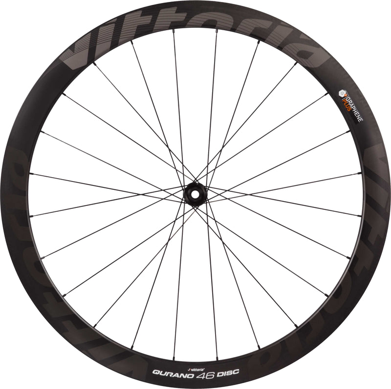 Vittoria Qurano Disc 46c Carbon Clincher G+ Road Bike Wheel