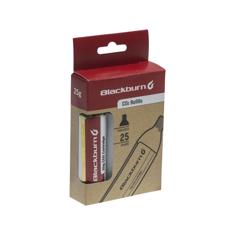 Blackburn 25g CO2 Cartridges - Threaded