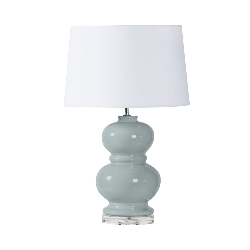 East Hamptons Lamp - blue/grey