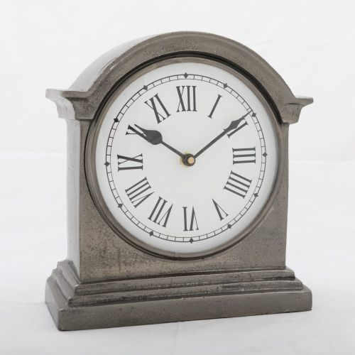 Hamptons Clock Black Nickel
