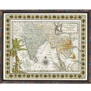 Tropical Antique Map 1
