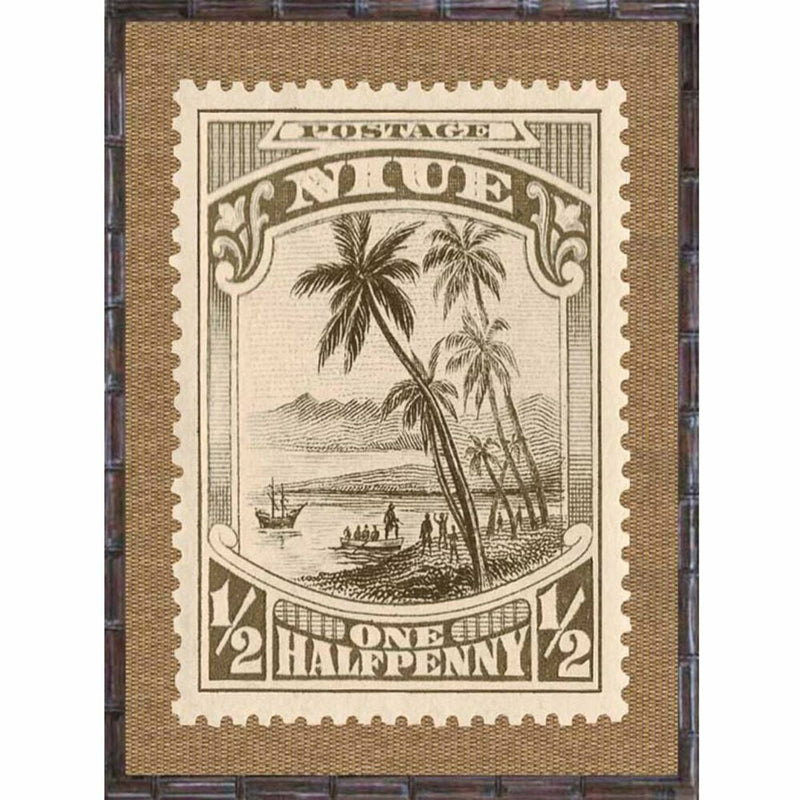 Island Stamps Framed Art Series 2