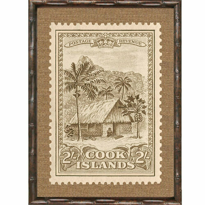Island Stamps Framed Art Series 3