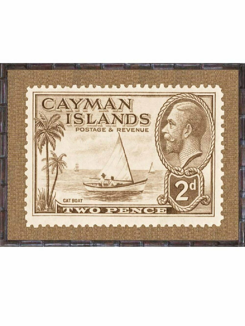 Island Stamps Framed Art Series 5