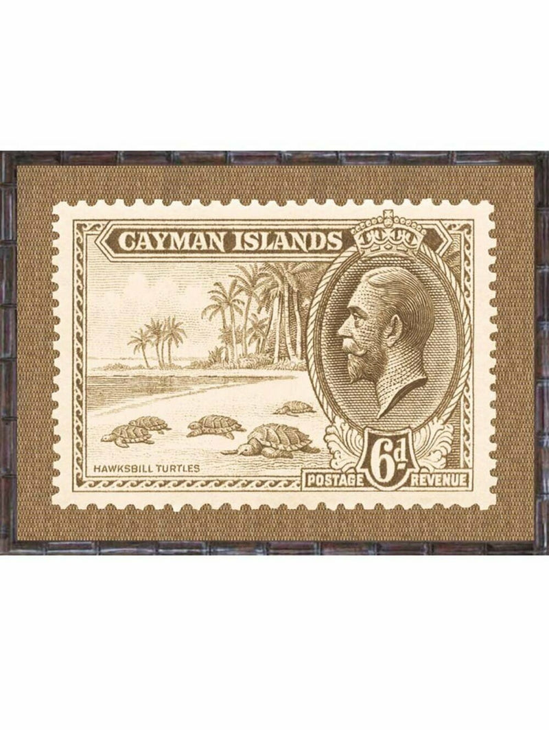 Island Stamps Framed Art Series 6