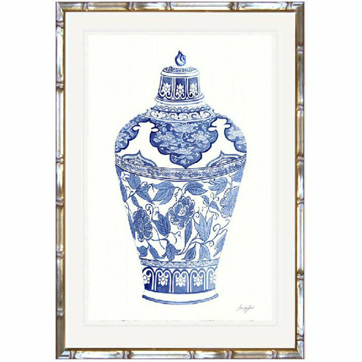Traditional Ginger Jar 1 Framed