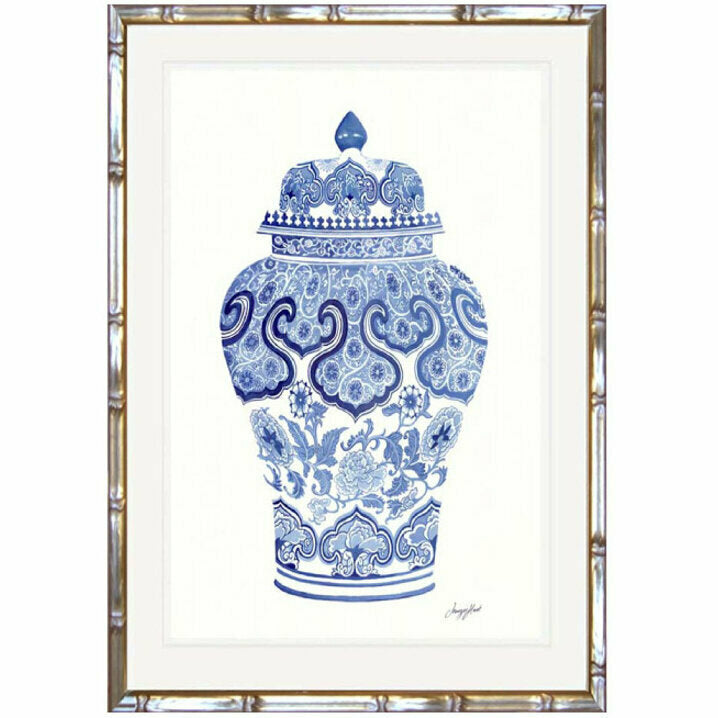 Traditional Ginger Jar 2 Framed