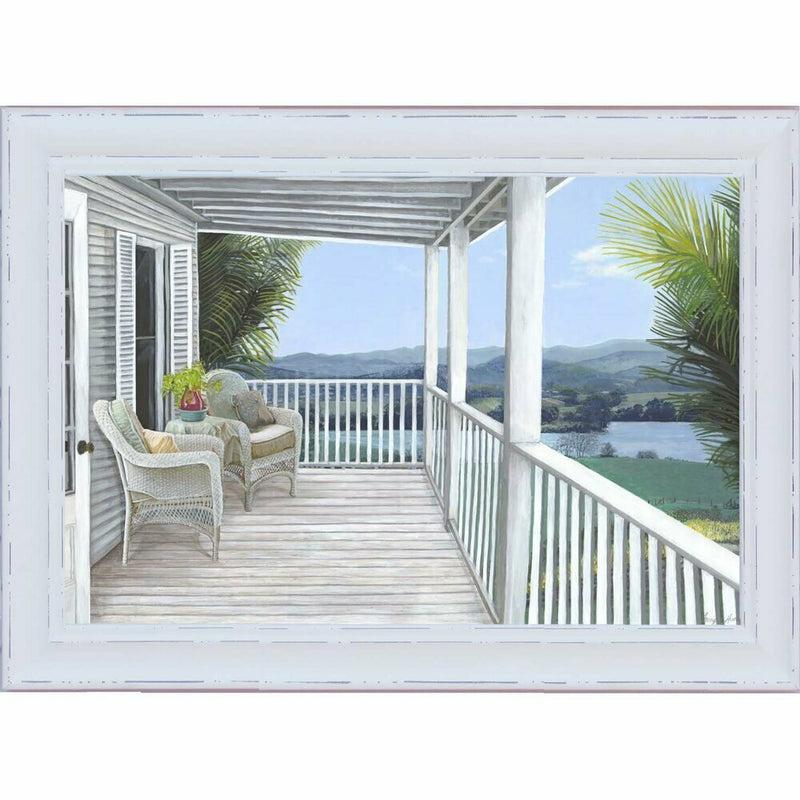 Hamptons Coastal Front Porch 1