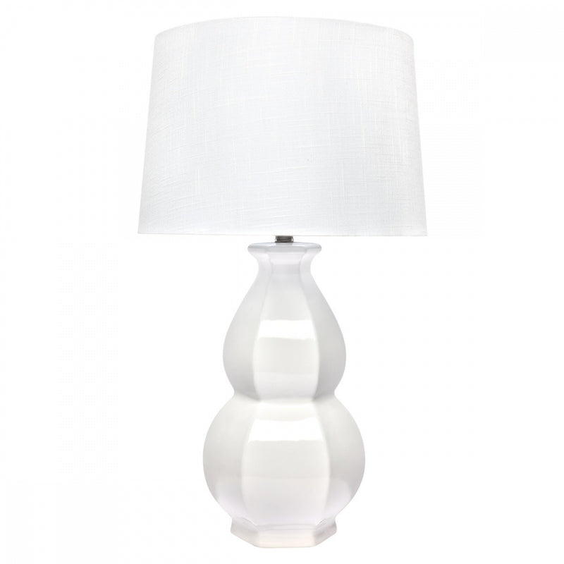 Charlotte Table Lamp - white