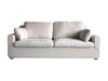 New Hamptons white 3 seat sofa