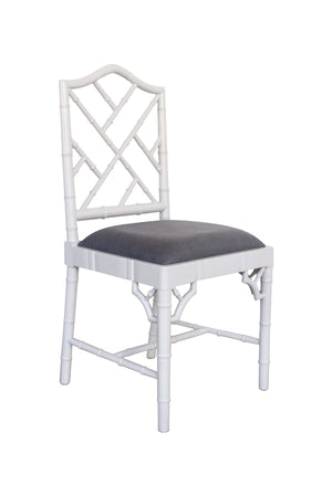 Classic Chippendale dining chair - French Grey