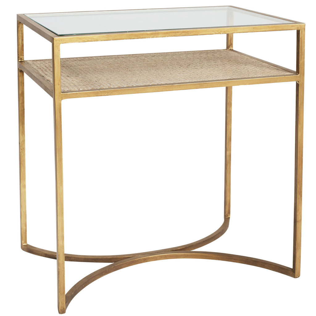 Richland Glass Side Table