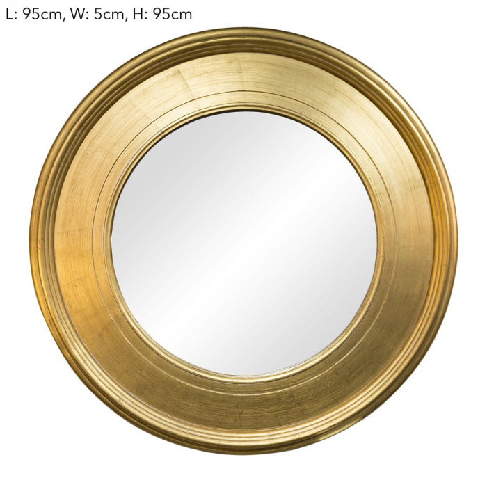 Gold Regency mirror