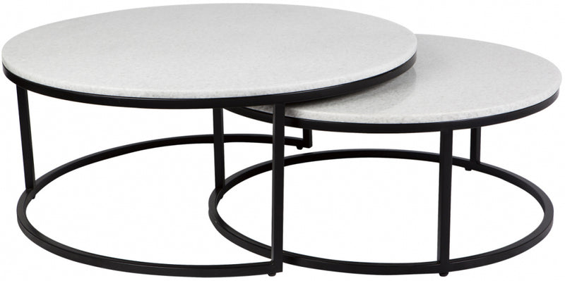 Illinois Coffee Table - Black 2pc