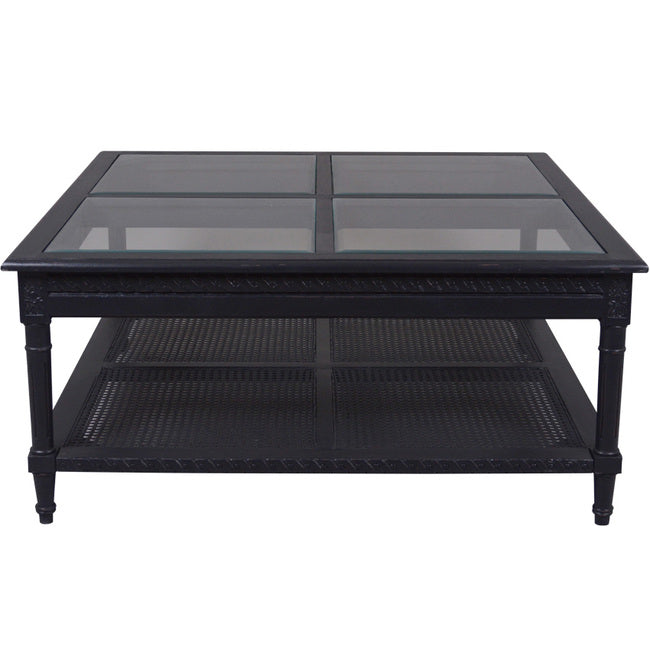 Nantucket coffee table black