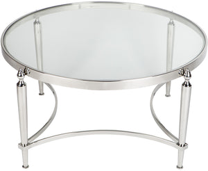 Jacques Coffee Table - Nickel