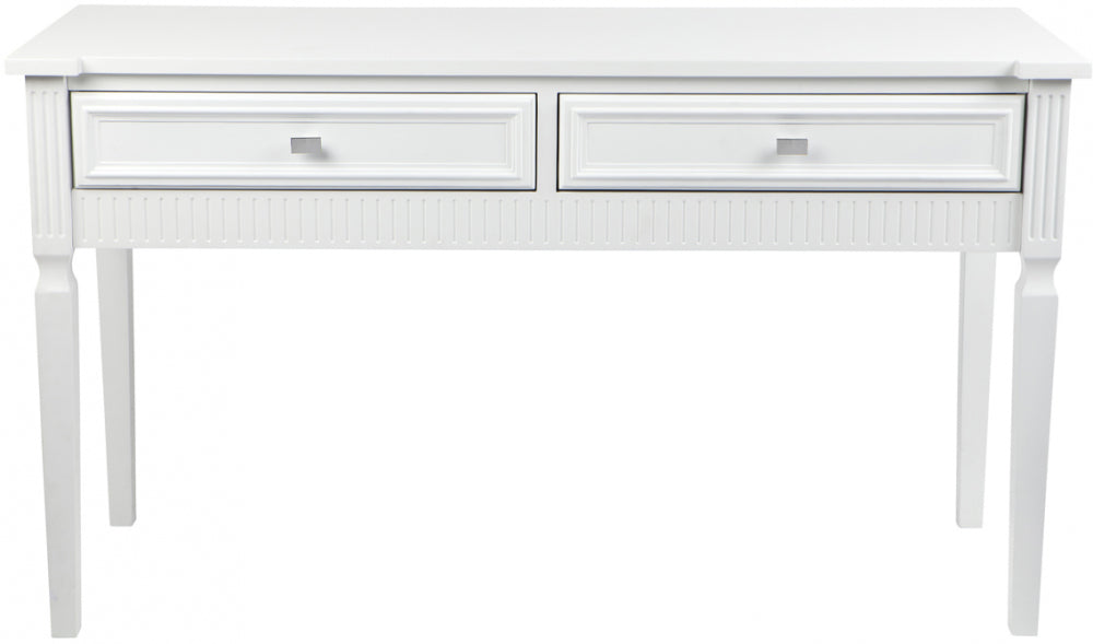 Washington Console Table - White