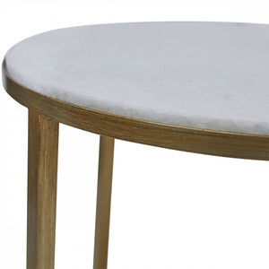 Illinois Side Table - Gold
