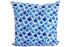 Large Scallop Outdoor Cushions - pair