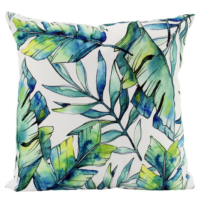 Large Palm Springs outdoor cushions - pair