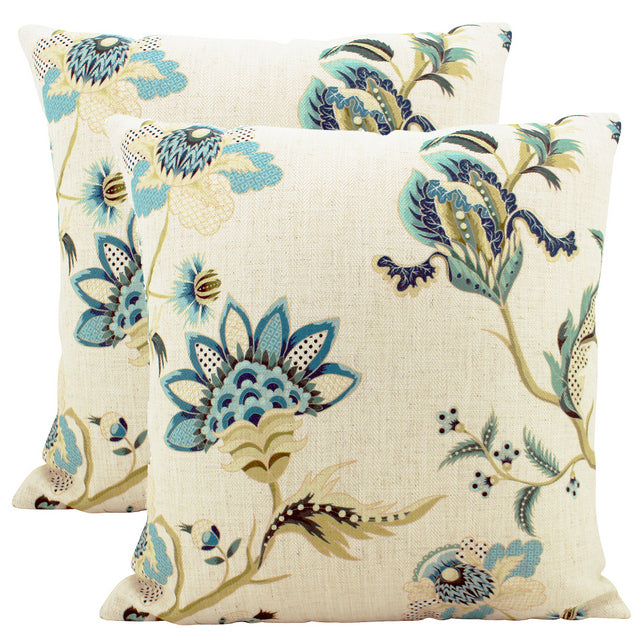 Floral Paisley cushion
