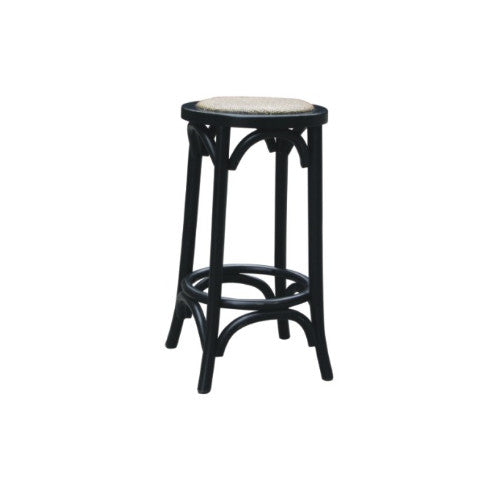 Hamptons stool - black