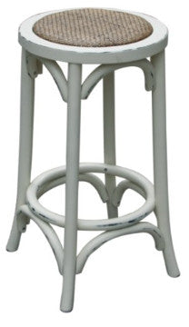 Hamptons stool - white