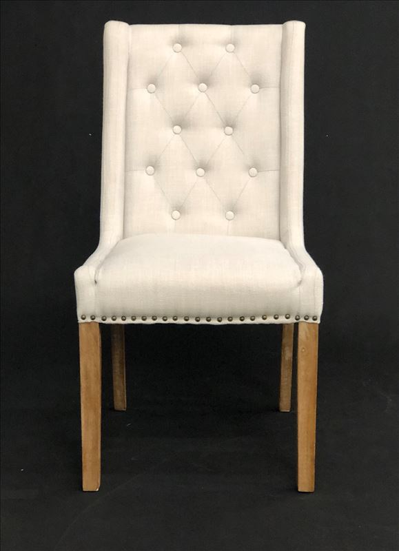 Debbie Buttoned dining chair