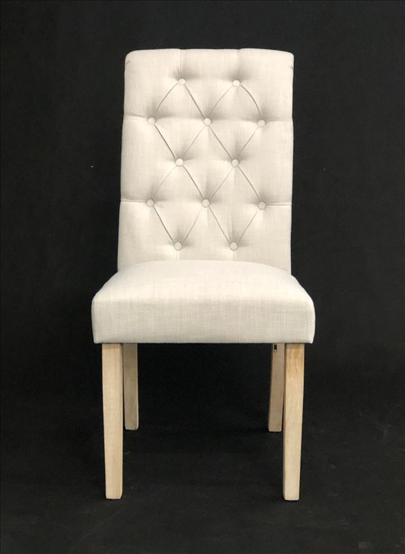 Jenny Buttoned dining chair