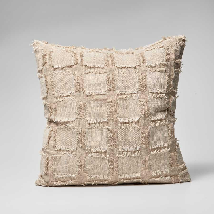 Bedu Linen Cushion - natural
