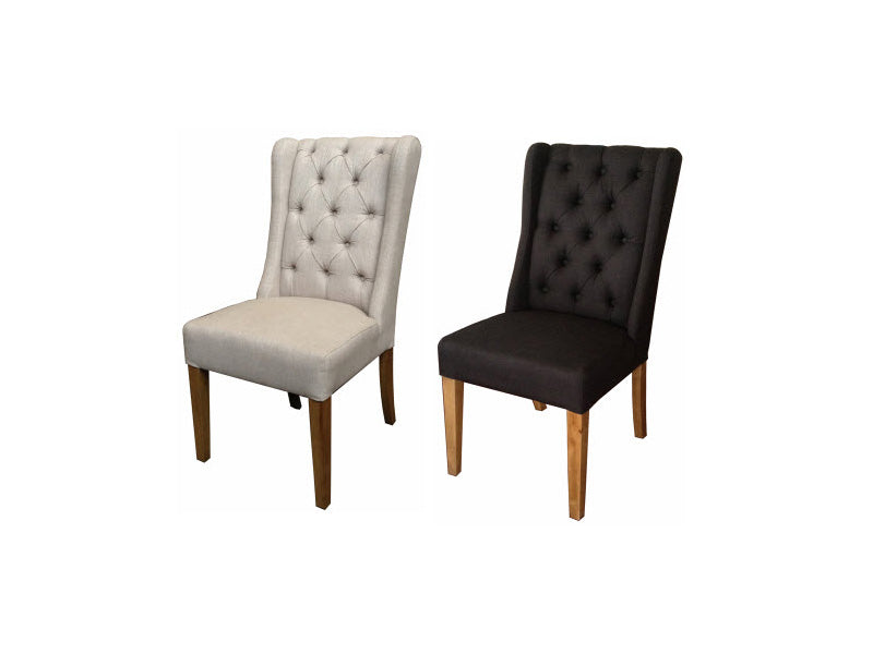 Elmont dining chair - black
