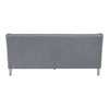 Coastal soft grey 3 seat sofa