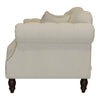 Provincial 2 Seat Buttoned Sofa - natural