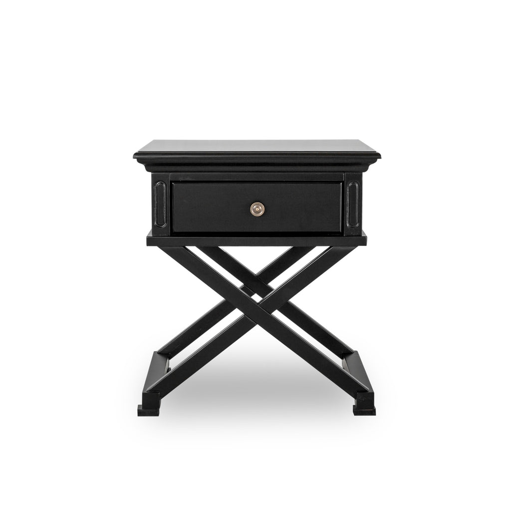 Rhode Island lamp table black