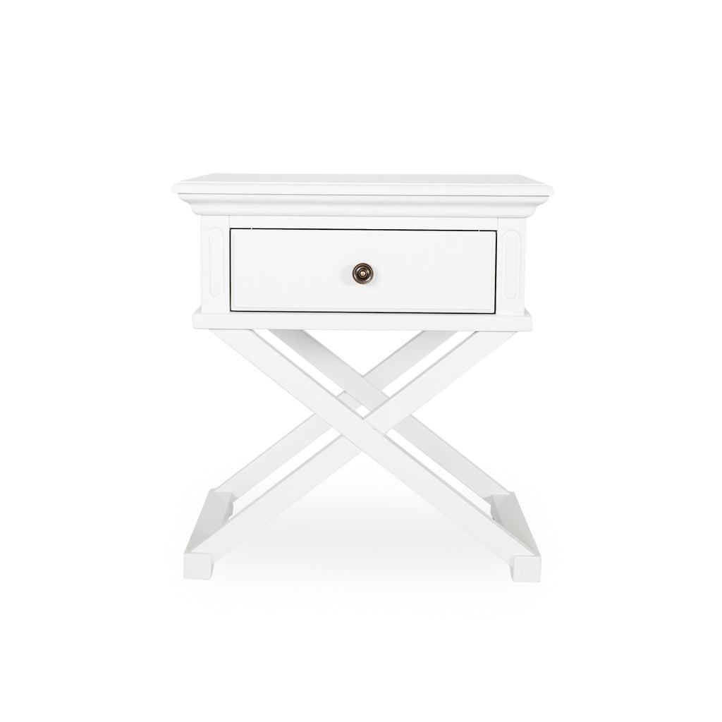 Rhode Island lamp table white