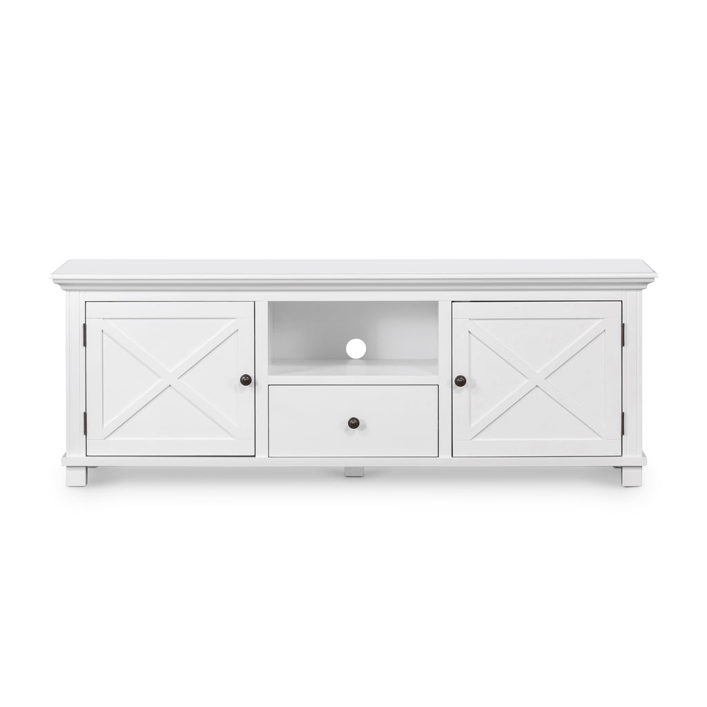 Rhode Island TV unit white