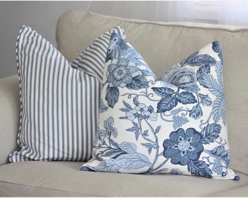 South Beach Floral cushion cover