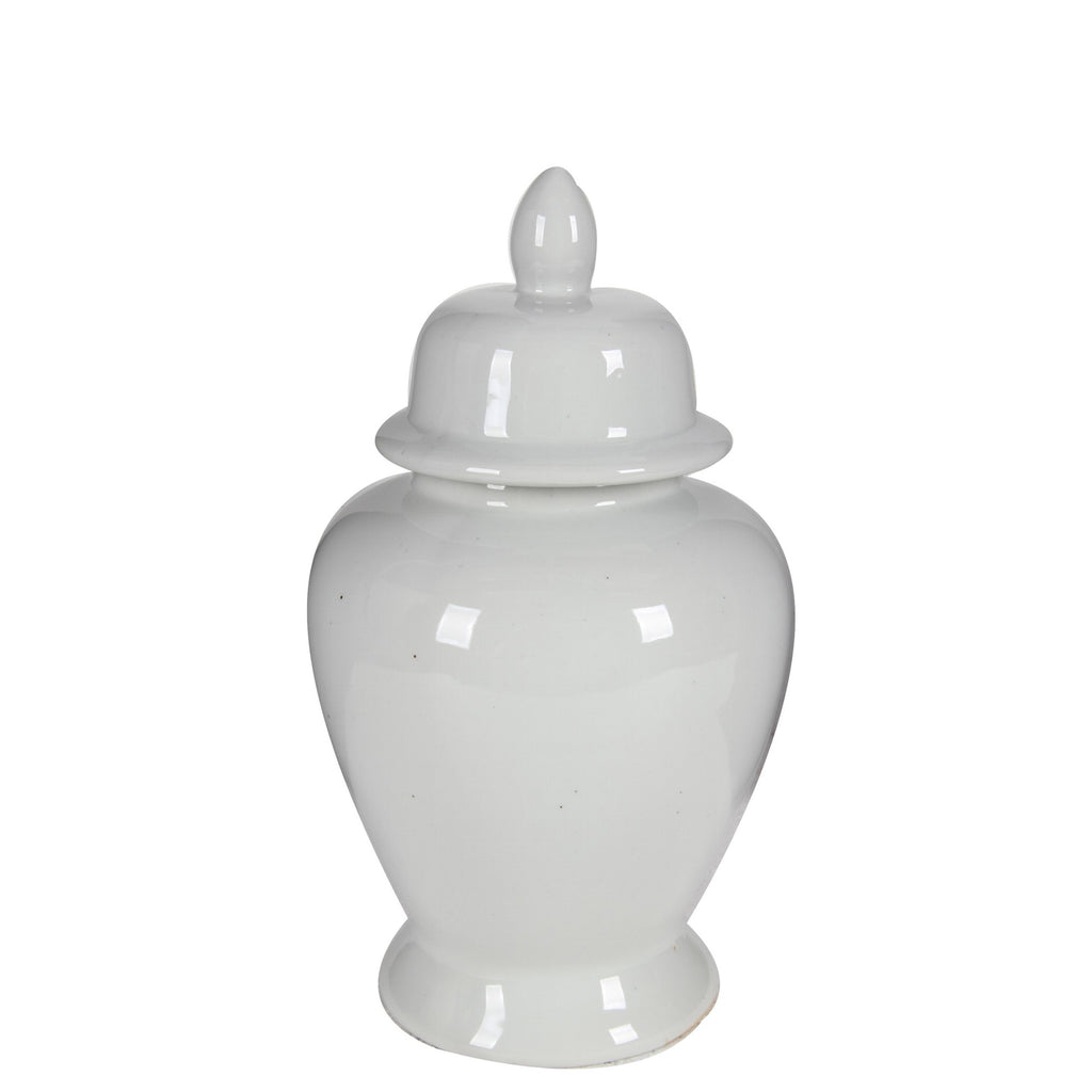 Hamptons Ginger Jar white - medium