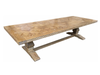 Hamptons Parquetry Elm dining table