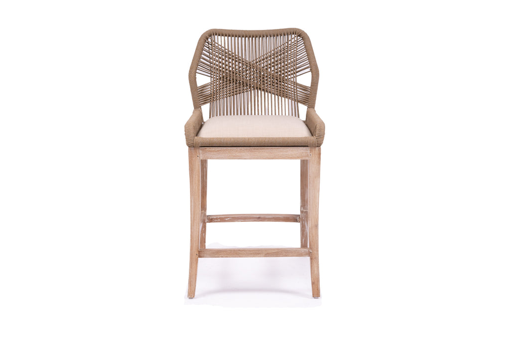 Palm Spring Stool - Tan